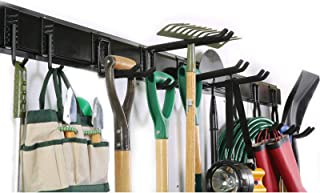 Ultrawall Rack, 13PCS Wall Mount Tools Home Storage System, Adjustable Heavy Duty Steel Garage Organization(9 Hooks, 4 Rails)