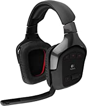Logitech Wireless Gaming Headset G930 with 7.1 Surround Sound (Renewed)