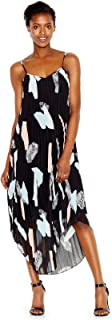 Best bar iii pleated printed maxi dress Reviews