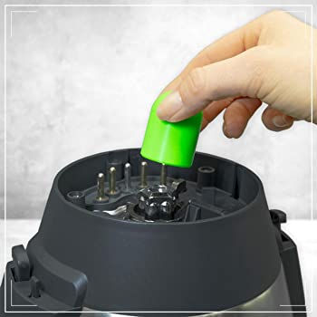 Coolina® Teig-Ex - Quitamasas para Monsieur Cuisine Connect. Color: Greeny Gecko (verde geco): Amazon.es