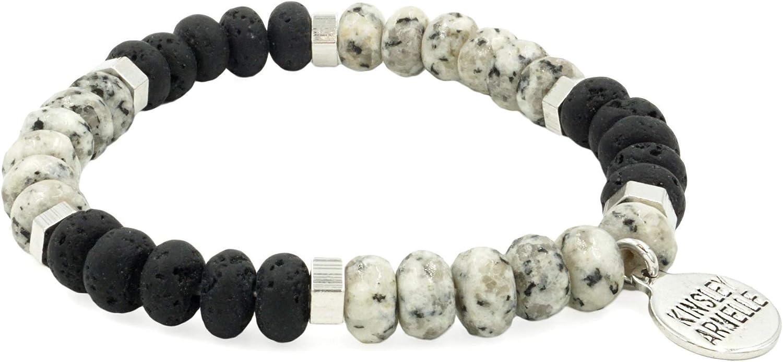 Kinsley Armelle Duchess Collection Outlet sale price feature Silver Aurora Bracelet -