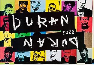 Calendario de pared 2020 [12 páginas 8 x 11 pulgadas] DURAN DURAN Vintage Disco Music Posters fotos revistas