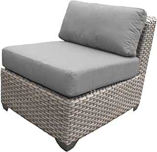 TK Classics TKC055b-AS Florence Seating Outdoor Furniture, Grey