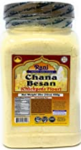 Rani Chana Besan - Chickpeas Flour, Gram (Pet Jar) 2lb (32oz) ~ All Natural | Vegan | Gluten Free Ingredients | NON-GMO | ...