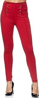 Elara Jeans Mujer Skinny Fit Cintura Alta Chunkyrayan