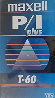 MAXELL T-60 PLUS Professional VHS tape - 10 Pack