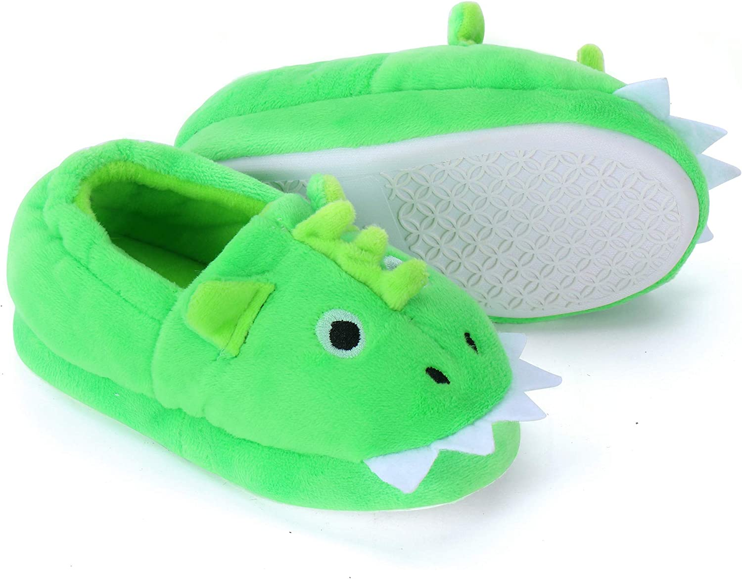 Buy Dream Bridge Warm Animal Soft Cozy Cute Cartoon Plush Non Slip Slippers Winter House Shoes Fuzzy Indoor Bedroom Shoes For Toddler Kids Online In Indonesia B07ybtnbxj