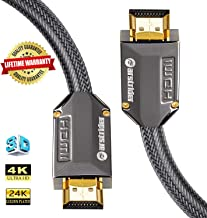 4K HDMI Cable/HDMI Cord 30ft - Ultra HD 4K Ready HDMI 2.0 (4K@60Hz 4:4:4) - High Speed 18Gbps - 26AWG Braided Cord-Ethernet /3D / ARC/CEC/HDCP 2.2 / CL3 by Farstrider