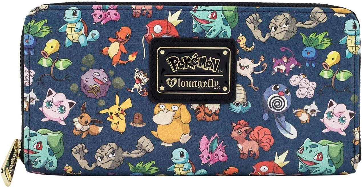 Loungefly free Pokemon Free shipping on posting reviews First Wallet Gen