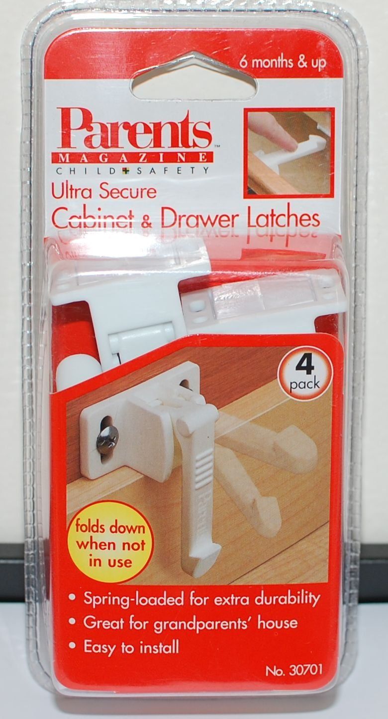 Ultra Secure Cabinet & Drawer Latches
