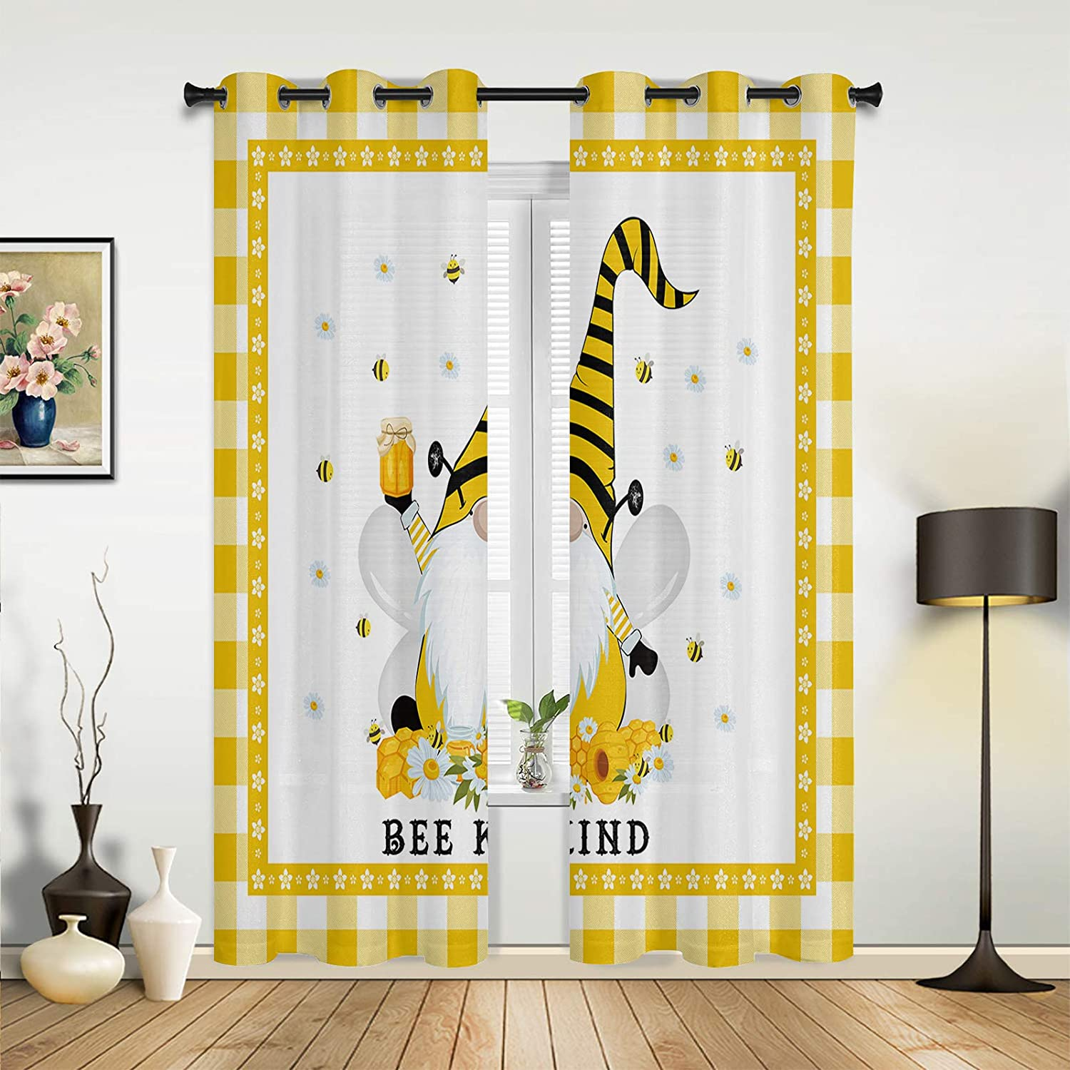 Window Sheer Curtains for Bedroom Room Weekly update Living shopping Pastoral American