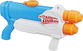 NERF Super Soaker - Barracuda Water Blaster - Dual Drenching - 1L Capacity - Kids Toys and Outdoor Games - Kids 6+