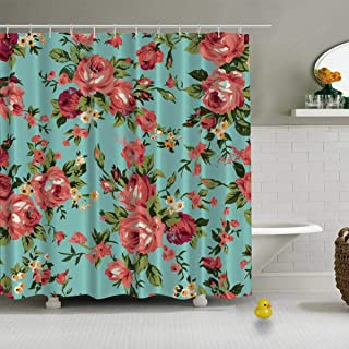 Shabby Chic Granny Chic Vintage Chintz Shower Curtains Waterproof Shower Curtain,jeffcyb37375o,36''W x72''H