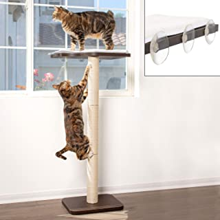 "PetFusion Ultimate CAT Window Climbing Perch (45"" Tall Tree) 
