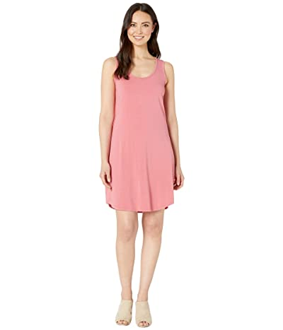 Mod-o-doc Tank Dress with Back Twist (Desert Red) Women