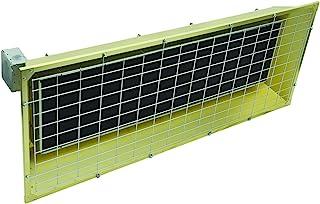 Fostoria FSS-9520-3 FES Series Heavy Duty Flat Panel Emitter Electric Overhead Infrared Heater, 9.50KW, 45.67 Amp