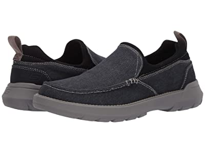 SKECHERS Relaxed Fit Doveno Hangout (Navy) Men