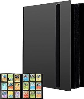 Revspoir 432 Pochette Carte - Classeur pour Pokémon Cartes, 24 Pages, 18 Porchettes chaque Page (deux côtés), Étanche Jeu ...