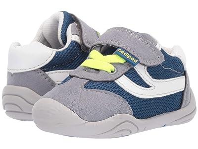 pediped Cliff Grip n Go (Toddler) (Grey/Blue) Boy