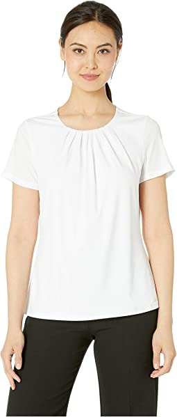 49eb2bf1d265a Calvin Klein. Flutter Sleeve Top.  27.99MSRP   59.00. New. White