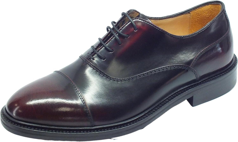 Mercanti Fiorentini  07723 Veneto Bordò, Chaussures de ville à lacets pour homme