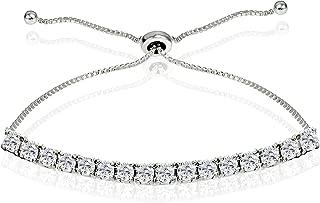 Best white sapphire tennis chain Reviews