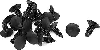 uxcell 8mm x 6mm Hole Plastic Car Fender Fir Tree Clips Rivets Retainer 20pcs