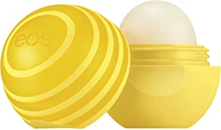 eos Super Soft Shea Sunscreen Sphere Lip Balm - Lemon Twist | SPF 15 and Water Resistant |Deeply Hydrates and Seals in Moisture | Sustainably-Sourced Ingredients | 0.25 oz
