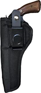 Nylon Belt or Clip on Gun Holster Fits Ruger GP100 (6 Shot) with 6