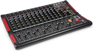 Power Dynamics PDM-M1204 Mesa de mezclas 12 entradas para micrófono Procesador multi-FX