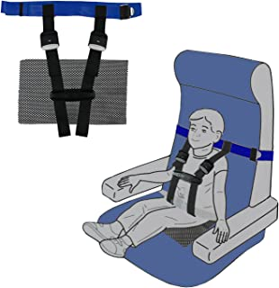 (Blue) - Children Care Harness Safety Aeroplane Restraint System with Non-Slip Drying Mat for Kids/Toddles/Children by BabyKim