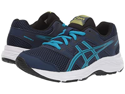 ASICS Kids Gel-Contend 5 (Big Kid) (Blue Expanse/Island) Boys Shoes