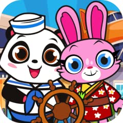 Over a Dozen Adorable Pets to choose from with over 10 costumes in each one for a total of over 100 characters! Visit the airport, and hop on the jet - pull the lever to take off on the runway to your destination! Tap the airplane Icon to head back t...