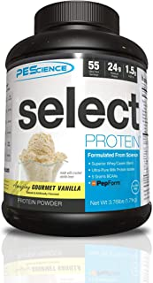 PEScience Select Protein Powder, Gourmet Vanilla, 55 Servings, 1.79kg