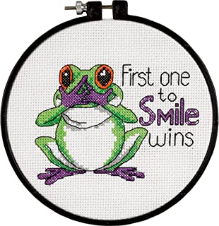 Dimensions Needlecrafts Counted Cross Stitch, First One to Smile