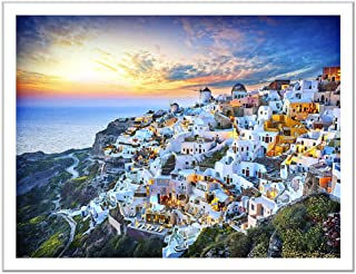 Pintoo Jigsaw Puzzle: Beautiful Sunset of Greece - 1200pcs