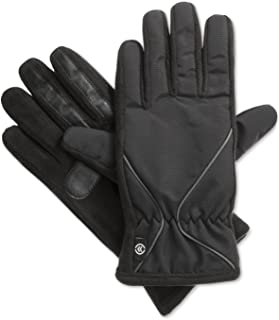 Isotoner Signature Women's smarTouch Nylon Sport Gloves w/ Fleece Palm