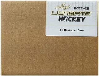 2018-19 Leaf Ultimate Hockey Hobby 10-Box Case