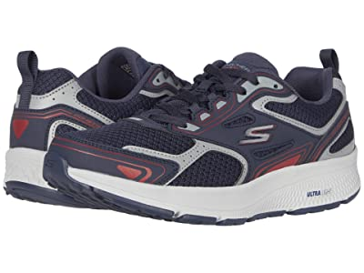 SKECHERS Go Run Consistent (Navy/Red) Men