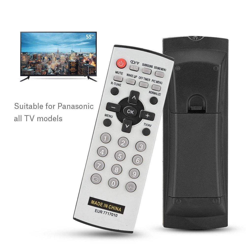 Mando a Distancia de TV, Controlador Remoto Inteligente Universal Ideal para Panasonic Todos los Modelos de TV con Distancia de Control Remoto de 8 m (EUR7717010): Amazon.es: Electrónica