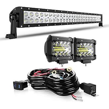 20inch 180W LED Light Bar Spot Flood Combo Offroad Driving Lamp Truck Boat 22/'/'