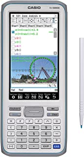 Casio Touchscreen with Stylus Graphing Calculator, 4.8 (FX-CG-500 L-IH)