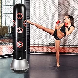 サンドバッグ パンチバッグ パンチ キック ボクシング テコンドー ストレス発散 160cm 子供 大人 空気入れ付き