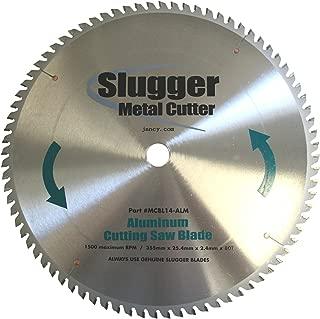 Jancy Slugger MCB14-ALM Aluminum Cutting Saw Blade, 14