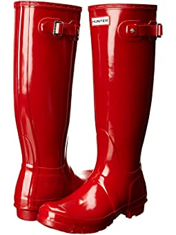 Red Rain Boots For Women