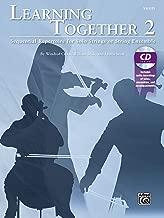 التعلم مع ً ا ، (2: متتابعة مجموعة لهاتف بمفرده أو أقواس أو سلسلة أنثوية (Violin) ، كتاب & CD