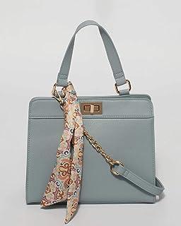 Blue Meg Mini Tote Bag