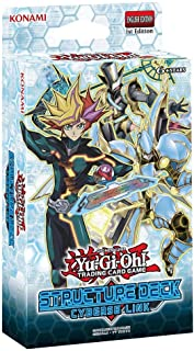 Yu-Gi-Oh! Trading Cards Cards: Cyberse Link Structure Deck, Multicolor (083717835462)