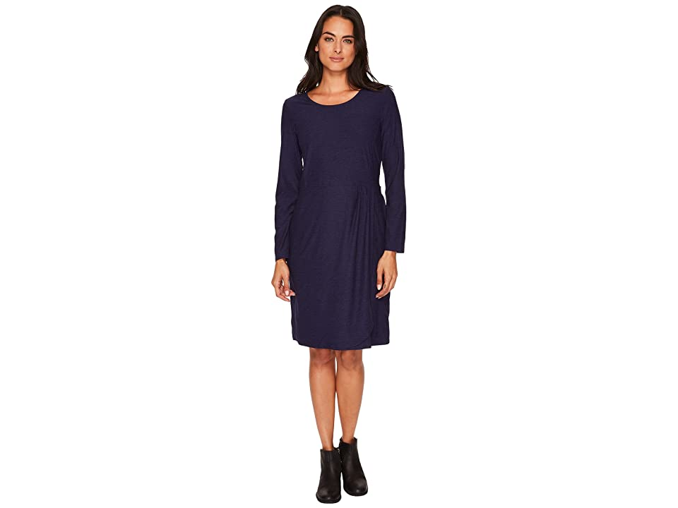 ExOfficio Wanderlux Tulipa Marl Dress (Blueprint Marl) Women