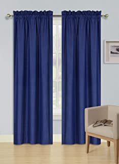 Best navy lined curtains Reviews